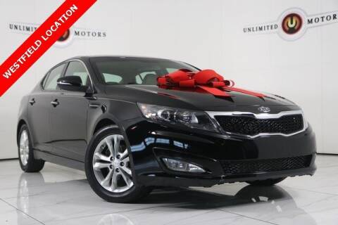 2012 Kia Optima for sale at INDY'S UNLIMITED MOTORS - UNLIMITED MOTORS in Westfield IN