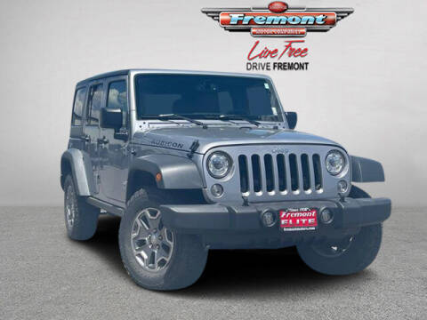 2018 Jeep Wrangler JK Unlimited for sale at Rocky Mountain Commercial Trucks in Casper WY