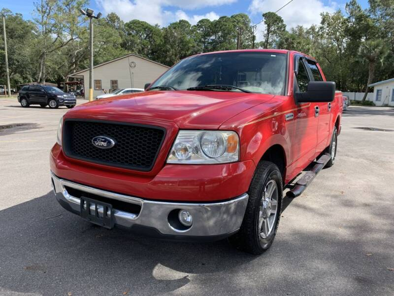 2006 Ford F-150 for sale at REDLINE MOTORGROUP INC in Jacksonville FL