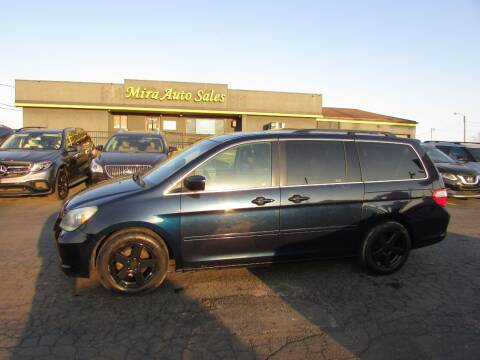 2006 Honda Odyssey for sale at MIRA AUTO SALES in Cincinnati OH