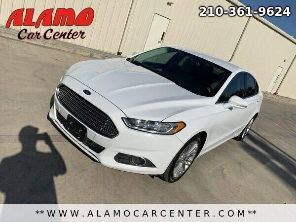2014 Ford Fusion for sale at Alamo Car Center in San Antonio TX