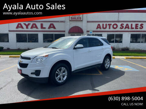 2015 Chevrolet Equinox for sale at Ayala Auto Sales in Aurora IL