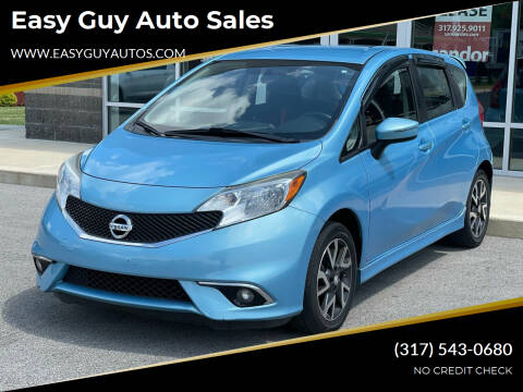 2015 Nissan Versa Note for sale at Easy Guy Auto Sales in Indianapolis IN