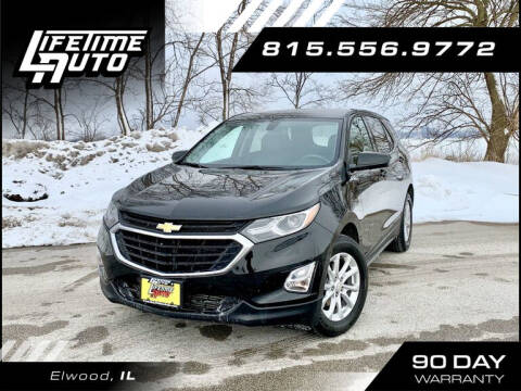 2018 Chevrolet Equinox for sale at Lifetime Auto in Elwood IL