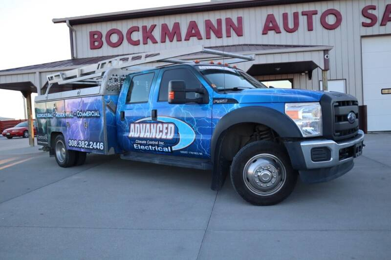 2016 Ford F-450 Super Duty for sale at Bockmann Auto Sales in St. Paul NE