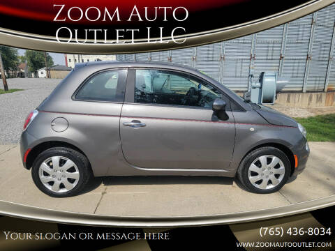 2013 FIAT 500 for sale at Zoom Auto Outlet LLC in Thorntown IN