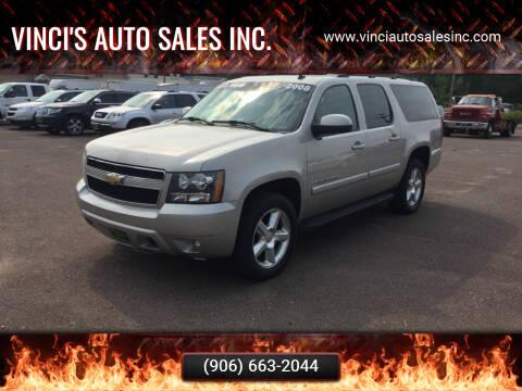 2008 Chevrolet Suburban for sale at Vinci's Auto Sales Inc. in Bessemer MI