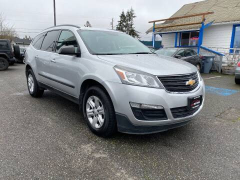 2017 Chevrolet Traverse for sale at LKL Motors in Puyallup WA