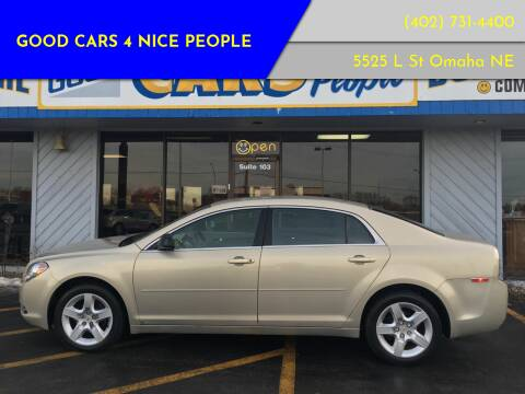 2009 Chevrolet Malibu for sale at Good Cars 4 Nice People in Omaha NE