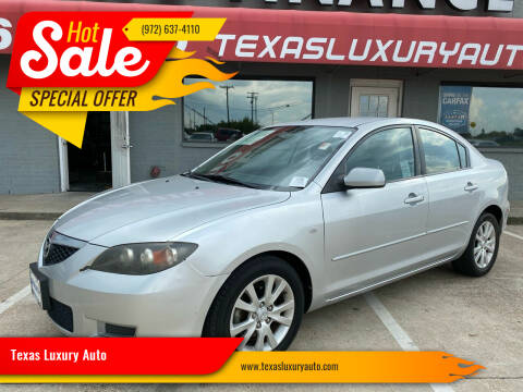 2008 Mazda MAZDA3 for sale at Texas Luxury Auto in Cedar Hill TX