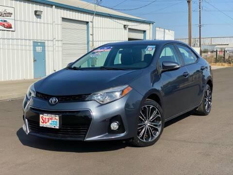 2014 Toyota Corolla for sale at SUPER AUTO SALES STOCKTON in Stockton CA