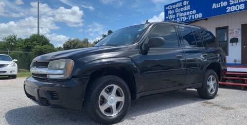 2006 Chevrolet TrailBlazer for sale at P & A AUTO SALES in Houston TX