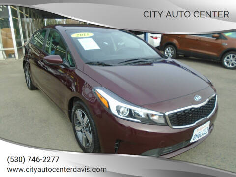 2018 Kia Forte for sale at City Auto Center in Davis CA