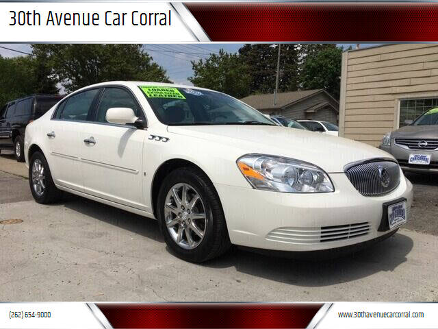 2007 Buick Lucerne for sale at 30th Avenue Car Corral in Kenosha WI