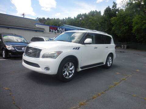 2011 Infiniti QX56 for sale at Uptown Auto Sales in Charlotte NC