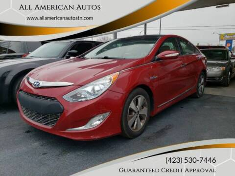 2012 Hyundai Sonata Hybrid for sale at All American Autos in Kingsport TN