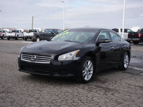 2010 Nissan Maxima for sale at FOWLERVILLE FORD in Fowlerville MI