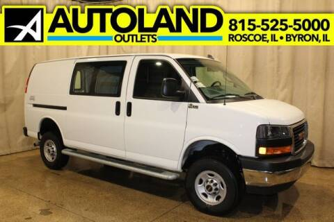 2019 GMC Savana Cargo for sale at AutoLand Outlets Inc in Roscoe IL