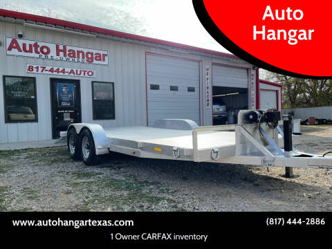 2018 Custom 18 ft Diamond Steel GVWR 10,000 lbs Car Hauler for sale at Auto Hangar in Azle TX