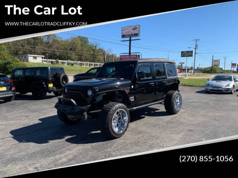 2018 Jeep Wrangler Unlimited for sale at The Car Lot in Radcliff KY
