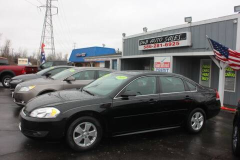 2010 Chevrolet Impala for sale at D & B Auto Sales LLC in Washington Township MI