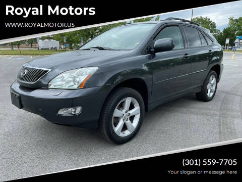 2007 Lexus RX 350 for sale at Royal Motors in Hyattsville MD