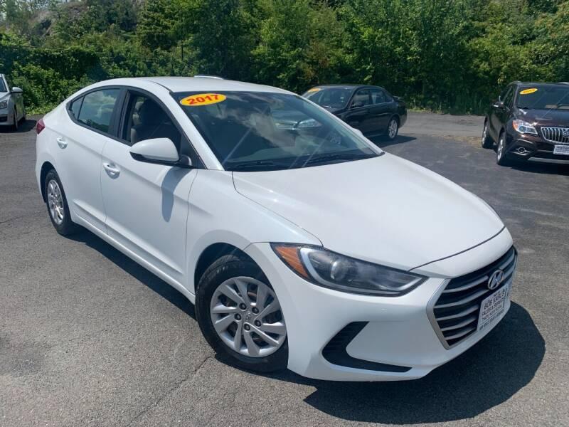 2017 Hyundai Elantra for sale at Bob Karl's Sales & Service in Troy NY