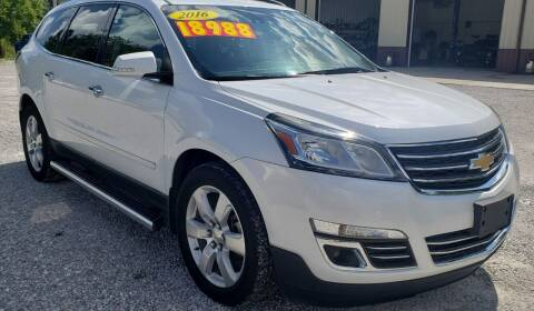 2016 Chevrolet Traverse for sale at COOPER AUTO SALES in Oneida TN