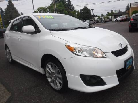 2010 Toyota Matrix for sale at Brooks Motor Company, Inc in Milwaukie OR