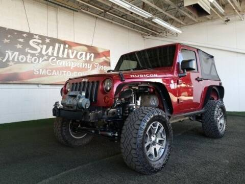 2012 Jeep Wrangler for sale at SULLIVAN MOTOR COMPANY INC. in Mesa AZ
