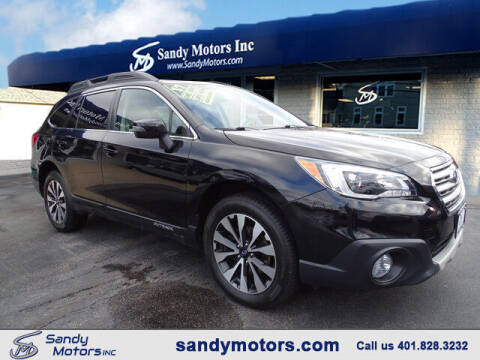 2017 Subaru Outback for sale at Sandy Motors Inc in Coventry RI