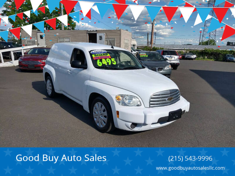 2010 Chevrolet HHR for sale at Good Buy Auto Sales in Philadelphia PA