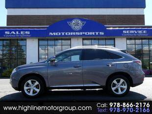 2014 Lexus RX 350 for sale at Highline Group Motorsports in Lowell MA