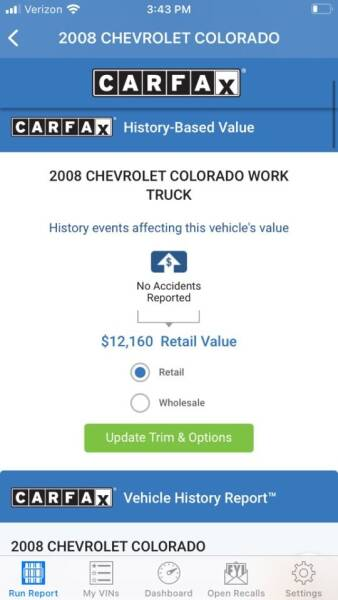 2008 Chevrolet Colorado 4x4 Work Truck Extended Cab 4dr - Portland OR