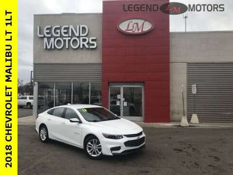 2018 Chevrolet Malibu for sale at Legend Motors of Waterford - Legend Motors of Ferndale in Ferndale MI