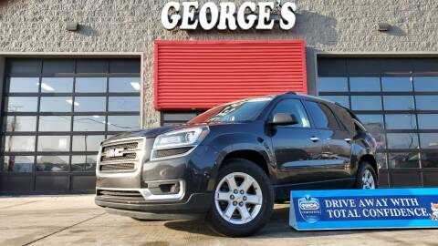 2014 GMC Acadia for sale at George's Used Cars in Brownstown MI