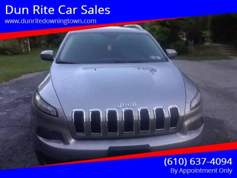 2014 Jeep Cherokee for sale at Dun Rite Car Sales in Downingtown PA