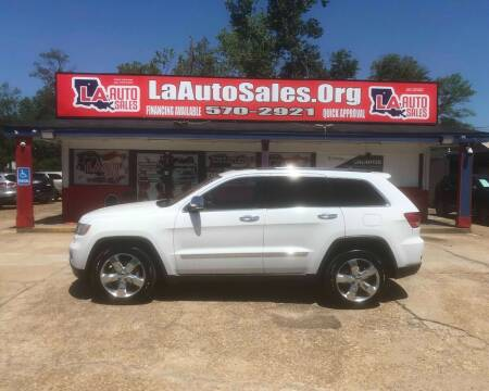 2013 Jeep Grand Cherokee for sale at LA Auto Sales in Monroe LA