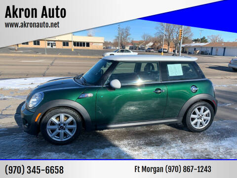 2012 MINI Cooper Hardtop for sale at Akron Auto - Fort Morgan in Fort Morgan CO