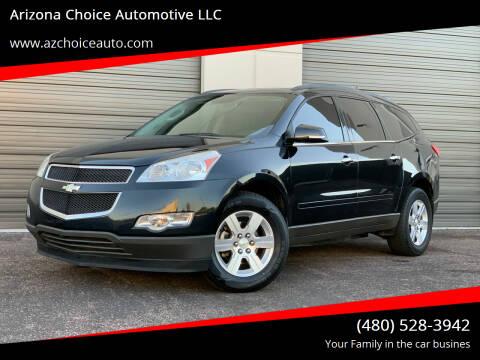 2012 Chevrolet Traverse for sale at Arizona Choice Automotive LLC in Mesa AZ