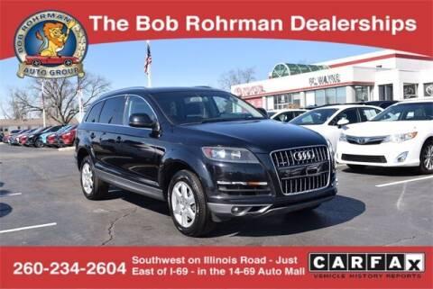 2012 Audi Q7 for sale at BOB ROHRMAN FORT WAYNE TOYOTA in Fort Wayne IN