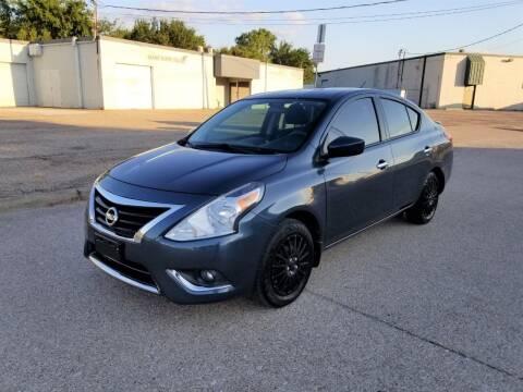 2015 Nissan Versa for sale at Image Auto Sales in Dallas TX