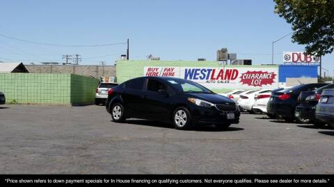 2015 Kia Forte for sale at Westland Auto Sales on 7th in Fresno CA