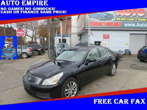 2008 Infiniti G35 for sale at Auto Empire in Brooklyn NY