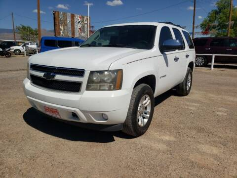 2008 Chevrolet Tahoe for sale at Bickham Used Cars in Alamogordo NM