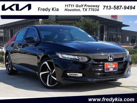 2018 Honda Accord for sale at FREDY KIA USED CARS in Houston TX