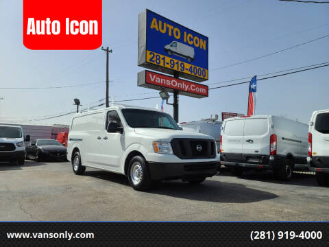 2016 Nissan NV Cargo for sale at Auto Icon in Houston TX