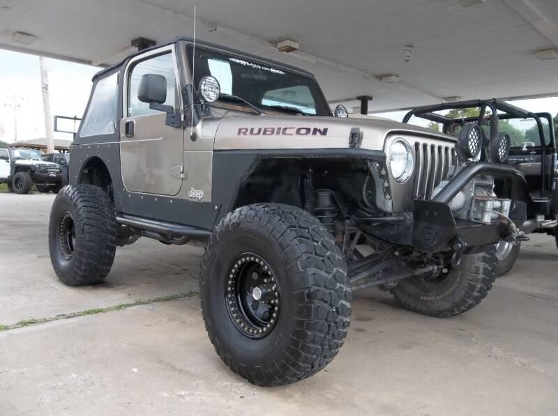 2004 Jeep Wrangler for sale at Broken Arrow Motor Co in Broken Arrow OK