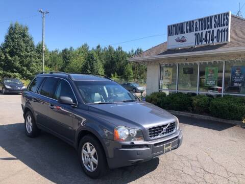 2006 Volvo XC90 for sale at NATIONAL CAR AND TRUCK SALES LLC in Norwood NC