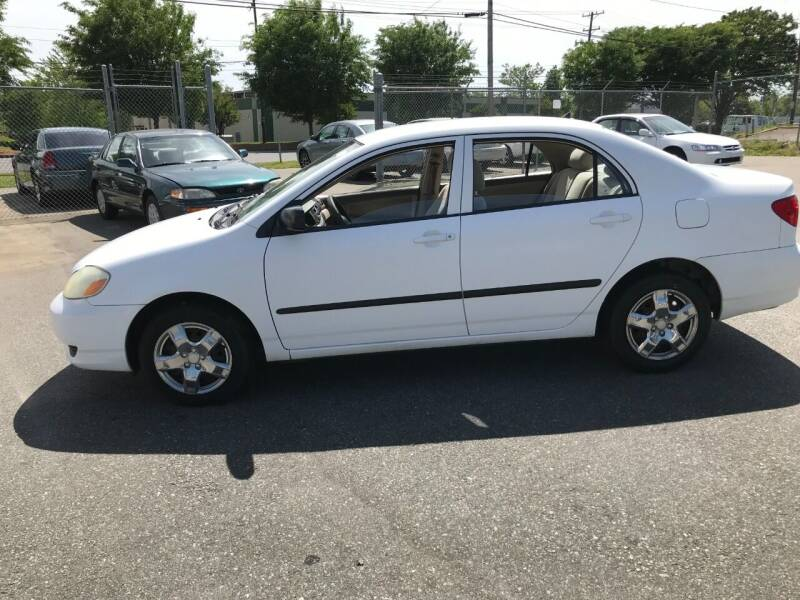 2003 Toyota Corolla for sale at Mike's Auto Sales of Charlotte in Charlotte NC